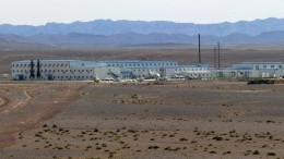 The camp at SouthGobi Resources' Ovoot Tolgoi coal mine in Mongolia, 40 km from the Chinese border. Credit: SouthGobi Resources