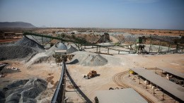 The processing plant at Endeavour Mining's Tabakoto gold mine in Mali. Credit: Endeavour Mining