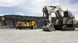 Equipment at SouthGobi Resources' Ovoot Tolgoi coal mine in Mongolia. Credit: SouthGobi Resources