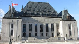 The Supreme Court of Canada Building in Ottawa, Ont. Photo by D. Gordon E. Robertson.