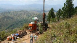 Pershimco Resources'  Cerro Quema gold project in southwestern Panama. Credit: Pershimco Resources