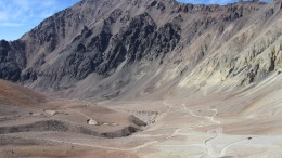 The Los Helados valley on the Chile-Argentina border, where NGEx Resources has one of its Los Helados copper-gold project. Source: NGEx Resources