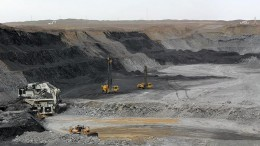 SouthGobi Resources' Ovoot Tolgoi coal mine in Mongolia. Credit: SouthGobi Resources.