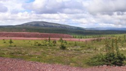 The Howse iron ore project in the Labrador Trough, which Tata Steel Minerals Canada owns outright after buying Labrador Iron Mines' 49% stake earlier this month. Credit: Labrador Iron Mines