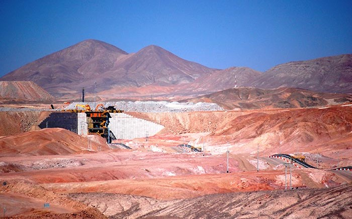 Antofagasta's Centinela copper mine in northern Chile, which was suspended due to heavy rainfall in March. Source: Antofagasta