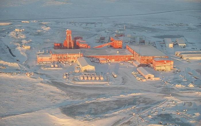 The plant WPC Resources' past-producing historic Lupin gold project in Nunavut. Credit: WPC Resources
