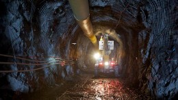 A tunnel at Lundin Mining's Eagle nickel-copper mine in northern Michigan. Credit: Lundin Mining