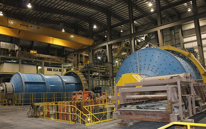The processing plant at Imperial Metals' Red Chris copper-gold mine in northwestern British Columbia, 80 km south of Dease Lake. Credit: Imperial Metals.