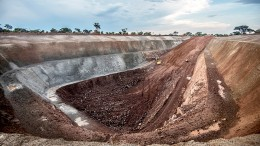A box cut under construction for the first access declines to the planned underground copper mine at Kamoa in the Democratic Republic of the Congo. Ivanhoe Mines has sold almost half its stake in the project to Zijin Mining Group. Credit: Ivanhoe Mines