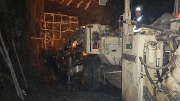 Underground development at Trevali Mining's Caribou zinc-lead-silver project in New Brunswick.  Credit: Trevali Mining