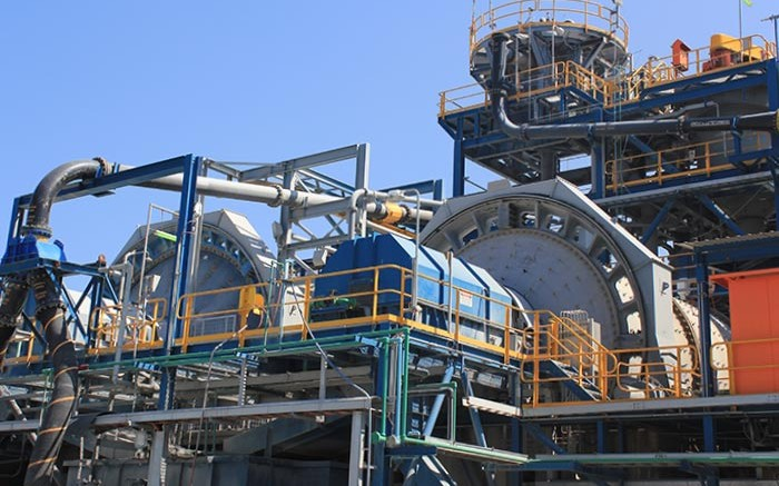 Processing facilities at OceanaGold's Didipio gold mine in the Philippines.  Source: OceanaGold