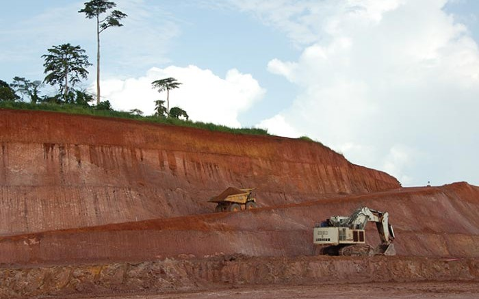 Machines in the north pit at Endeavour Mining's Agbaou gold mine Cte d'Ivoire. Source:  Endeavour Mining