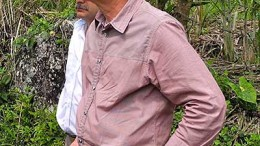 Julian Villarruel, Antioquia Gold president and COO, at Cisneros gold project in Colombia. Source: Antioquia Gold