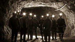 Miners underground at  Great Panther Silver's  Guanajuato mine complex in Mexico. Source:  Great Panther Silver