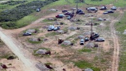 Construction at Uranium Energy's    Palangana uranium project in South Texas. Source: Uranium Energy Corp.