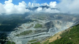 Barrick Gold's 47.5%-owned Porgera gold mine in Papua New Guinea. Source: Barrick Gold