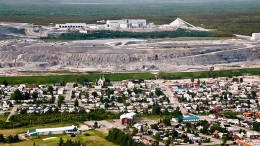 Agnico Eagle Mines and Yamana Gold's Canadian Malartic gold mine in  Quebec. The mine is Abitibi Royalties' main royalty stream. Source: Agnico Eagle Mines