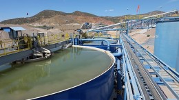 Processing facilities at SilverCrest Mines' Santa Elena silver-gold mine in Sonora, Mexico.  Source: SilverCrest Mines