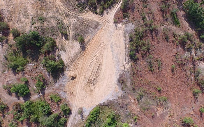 The plant site under development at Romarco Minerals' Haile gold mine in South Carolina. Source: Romarco Minerals