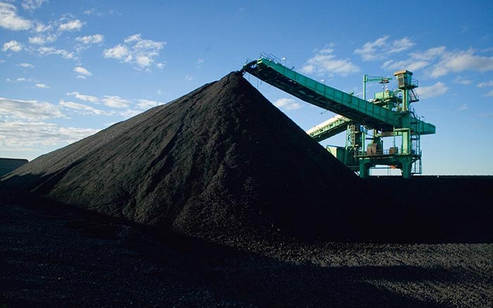 A stockpile at BHP Billiton's Illawarra metallurgical coal-mining complex in New South Wales, Australia. Illawarra will be part of the South32 spinoff. Credit: BHP Billiton