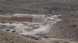 Pilot mining operations in Arizona at Patriot Gold and Northern Vertex Mining's Moss gold-silver project in 2013.  Source: Patriot Gold