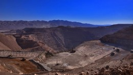 The Mantos Blancos copper mine in northern Chile, which Anglo American is selling to a consortium, along with its Mantoverde copper mine. The sale will net the miner up to US$500 million. Source: Anglo American