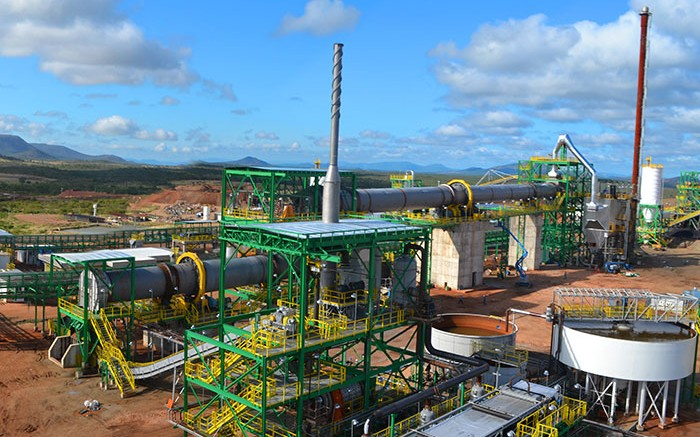 Largo Resources' Maracas vanadium mine in Brazil, where Anglo Pacific Group holds a 2% net smelter return royalty. Credit: Largo Resources.