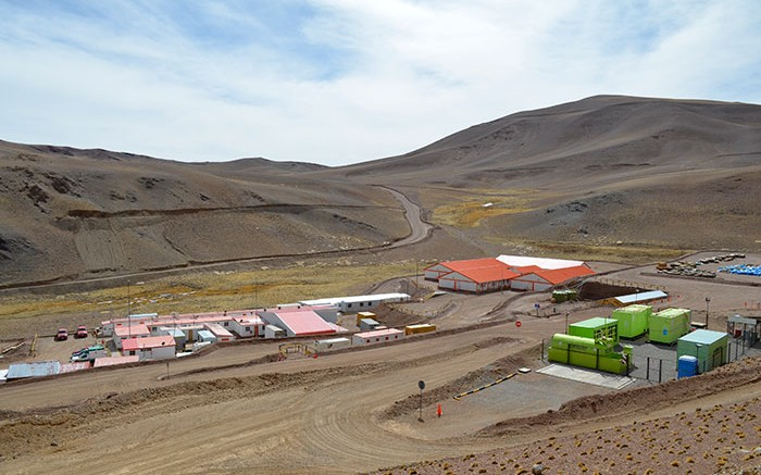 Goldcorp's El Morro gold-copper project in northern Chile's Huasco province. Source: Goldcorp