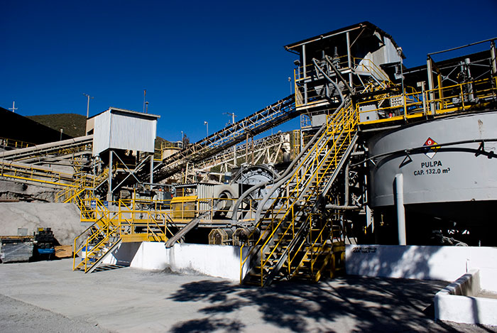 Processing equipment at Pan American Silver's La Colorada silver mine in Mexico's Zacatecas state. Source: Pan American Silver