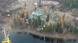 The camp at Gold Canyon Resources' Springpole gold project in northwestern Ontario. Source: Gold Canyon Resources