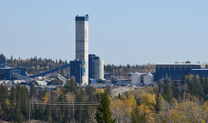 The headframe at AuRico Metals' past-producing Kemess gold-copper project, 250 km south of Smithers, British Columbia. Source: AuRico Metals