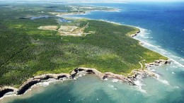 The Donkin coal project in Nova Scotia, which is owned by Kameron Collieries, a Cline Group subsidiary. Credit: Morien Resources.