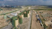 The terminal station at Jorf Lasfar for OCP's 187 km slurry pipeline in Morocco, which can move 38 million tons of phosphate per year. Source: OCP