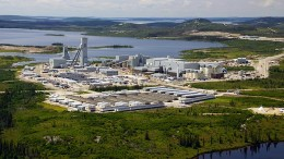 Goldcorp's lonore gold mine in Quebec's James Bay region. The mine is expected to produce up to 270,000 oz. gold this year. Source:  Goldcorp