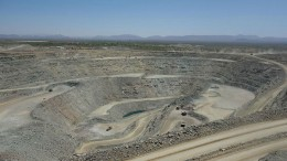 Timmins Gold's San Francisco gold mine in Sonora, Mexico.  Credit:  Timmins Gold