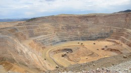 Kinross Gold's newly bought Bald Mountain gold mine in northeast Nevada, 110 km southeast of Elko. Credit:Kinross Gold