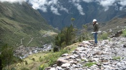 Minera IRL's Ollachea gold project in Peru, as seen in 2011. Photo by John Cumming