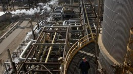 Bitumen upgrading facilities at the Syncrude oilsands project in Alberta, which is jointly owned by Canadian Natural Resources, Suncor, Imperial Oil Resources, Mocal Energy, Murphy Oil, Nexen Energy and Sinopec Oil Sands. Source: Syncrude