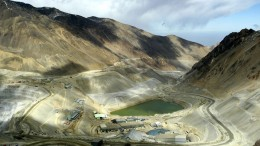 Processing facilities at Anglo American's Los Bronces copper mine in Chile. Credit: Anglo American
