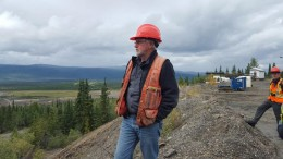 Alan McOnie, Alexco Resource's vice-president of exploration, at the Keno Hill polymetallic project in the Yukon.Photo by Matthew Keevil.