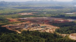 Banro's Namoya gold mine in the Democratic Republic of the Congo. The is 200 km southwest of its Twangiza gold mine. Credit: Banro