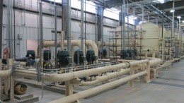Pumps and piping at Ur-Energy's Lost Creek uranium mine in Wyoming. Credit: Ur-Energy