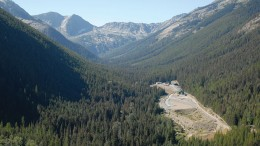 Facilities at Mines Management's Montanore silver-copper property in northwestern Montana.  Credit: Mines Management