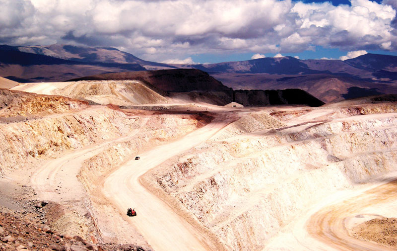 Kinross Gold's Maricunga gold mine in Chile, which authorities have ordered shut down over environmental concerns. Credit: Kinross Gold