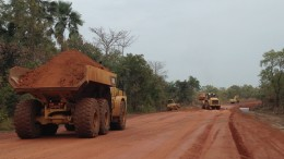 Early mine development at B2Gold's Fekola gold project in Mali. Credit: B2Gold