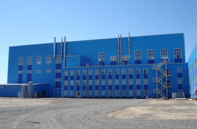 Uranium One's in-situ-recovery processing facility at South Inkai, Kazakhstan in 2008. Credit: Uranium One