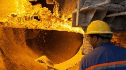 An employee at an Anglo American phosphate plant in Brazil. Credit: Anglo American'