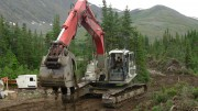 Carmax's flagship Eaglehead copper project, 48 km east of Dease Lake, British Columbia. Credit: Carmax Mining.