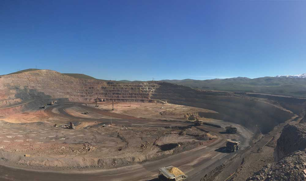 Premier Gold Mines and Barrick Gold's South Arturo gold project in Nevada.  Credit: Premier Gold Mines.