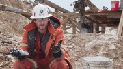 """A cropped frame from the film """"Koneline: our land beautiful"""" showing a geologist at Pretium Resources' Brucejack gold project in northwestern B.C. Credit: Canada Wild Productions."""